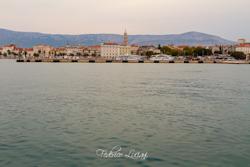 Il porto di Spalato.